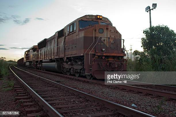 Carajas railway is privately owned and operated by Vale it runs for 900km from Sao Luis Maranhao to Paraepebas Para Brazil The Carajas Open Cast Iron...