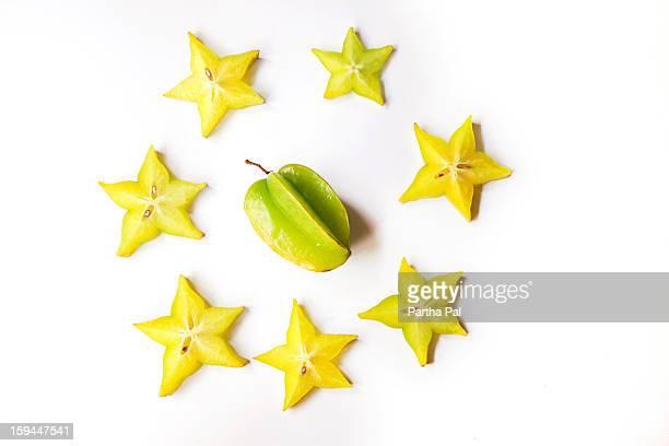 Carambola (Star Fruit),Tropical fruit
