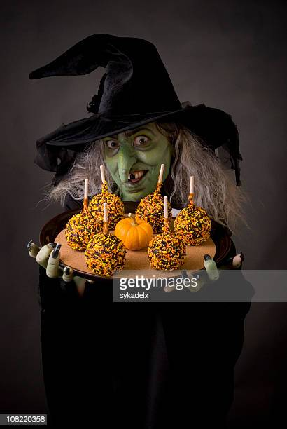 Caramel Apple Witch