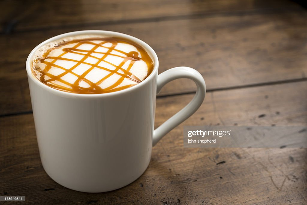 Caramel Coffee : Stock Photo