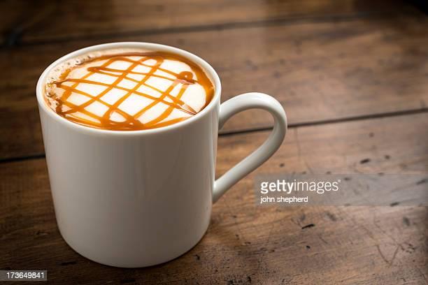 キャラメルのコーヒー
