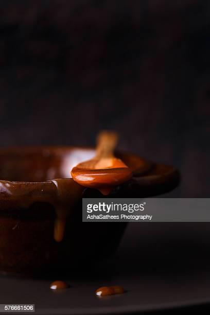 Caramel Sauce dripping
