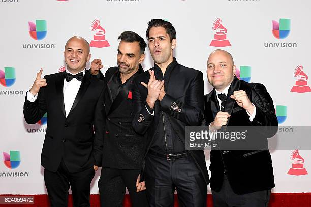 Caramelos de Cianuro attends The 17th Annual Latin Grammy Awards at TMobile Arena on November 17 2016 in Las Vegas Nevada
