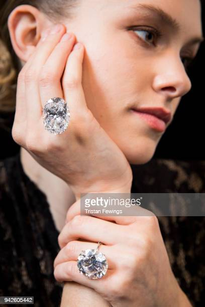 Two of the largest purest white diamonds ever to come to auction a 5171 carat round brilliant cut D Flawless diamond and a 5039 carat oval D Flawless...
