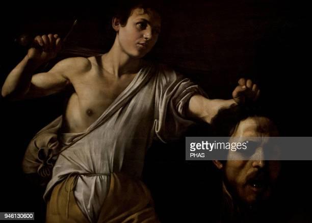 Caravaggio Italian painter Baroque David with the head of Goliath 16051606 Kunsthistorisches Museum Vienna Austria
