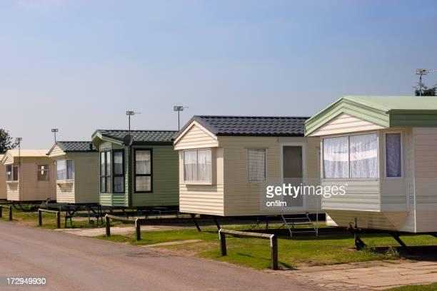 Caravanes/Terrain de mobile-homes