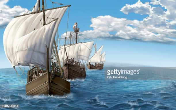 Caravel Fast ship with three or four masts it was used especially in the 15th and 16th centuries for exploration