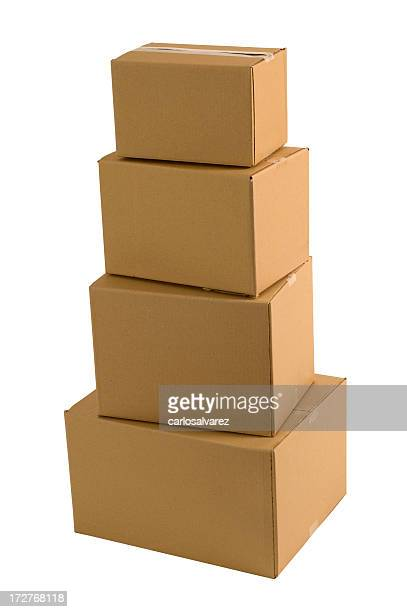 Carboard Box clipping path