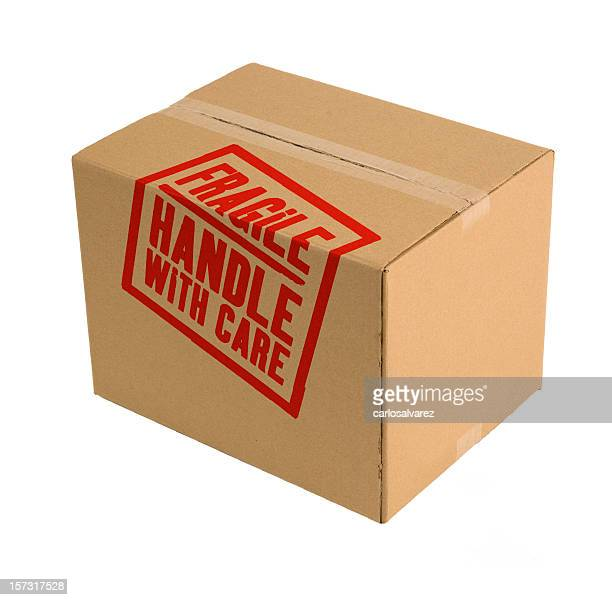 Carboard Box Handle With Care