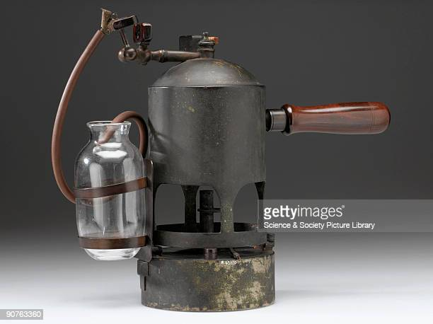 Carbolic steam spray made by D Marr and used by Joseph Lister English surgeon and founder of antiseptic surgery In 1865 Lister first started to...
