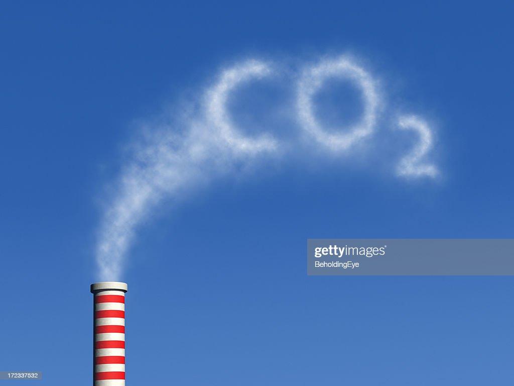 Carbon Dioxide XL : Stock Photo