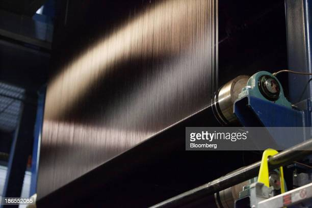 Carbon fiber is made at the SGL Automotive Carbon Fibers manufacturing plant in Moses Lake Washington US on October 9 2013 The US Census Bureau is...