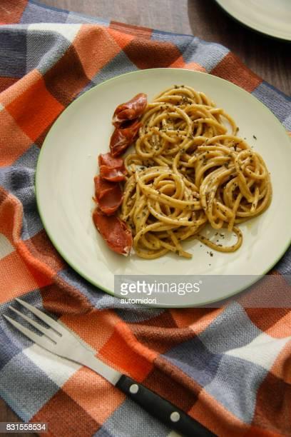 Carbonara with Weiner Sausage