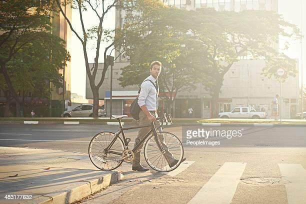 Carbon-free city travel