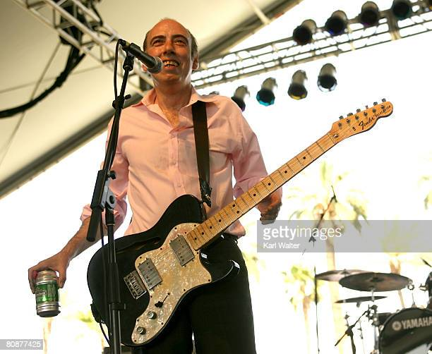 Carbon/Silicon musician Mick Jones performs during day 2 of the Coachella Valley Music And Arts Festival held at the Empire Polo Field on April 26,...