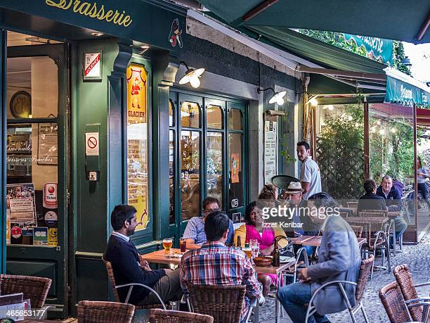 carcassonne cafe and restaurants - guy carcassonne stock pictures, royalty-free photos & images