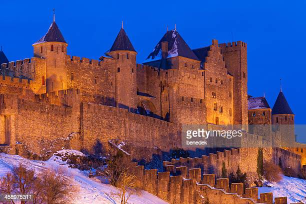 carcassonne, france - carcassonne stock pictures, royalty-free photos & images