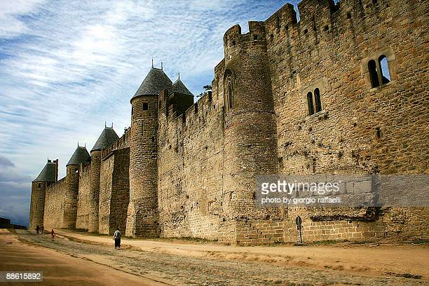Carcassonne, in the morning