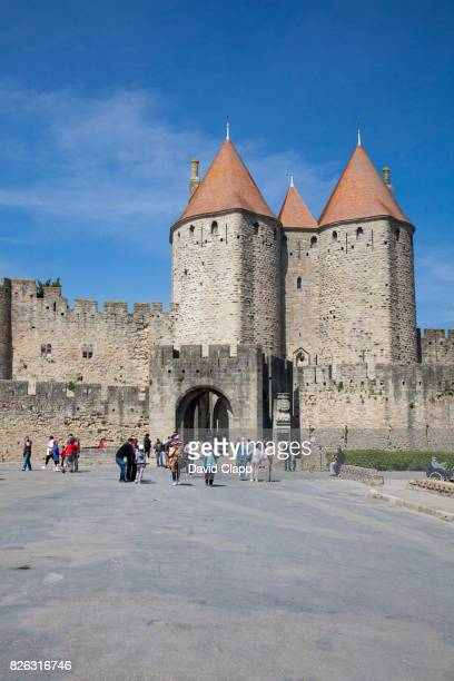 carcassonne, languedoc, france - guy carcassonne stock pictures, royalty-free photos & images