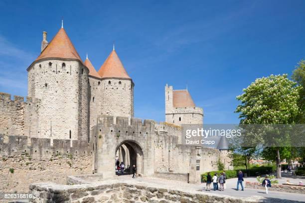 carcassonne, languedoc, france - guy carcassonne photos et images de collection