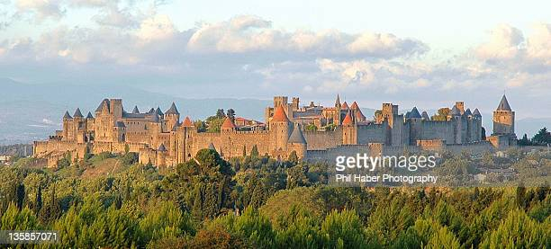 carcassonne - phil haber stock pictures, royalty-free photos & images