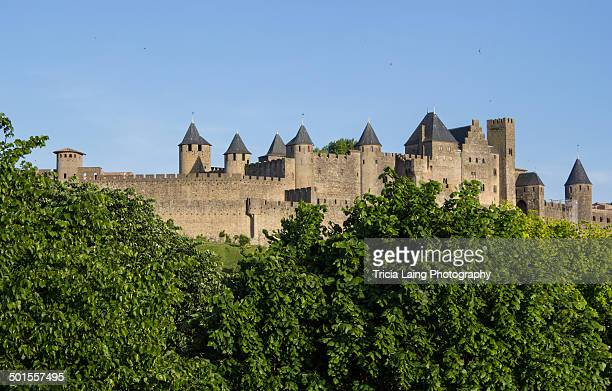 carcassonne - carcassonne stock pictures, royalty-free photos & images