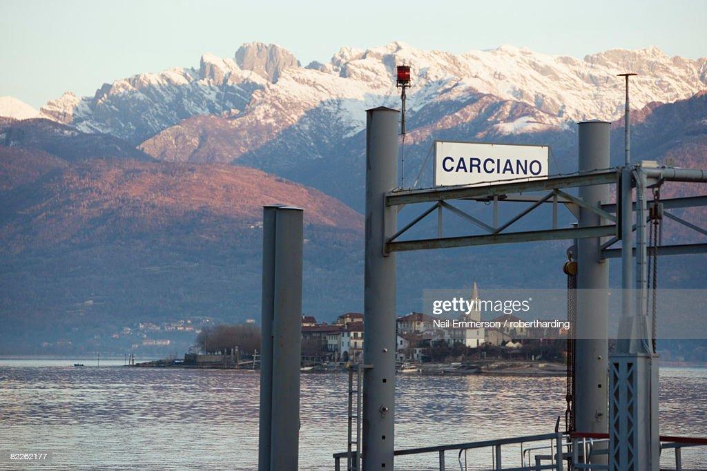 Carciano, Lake Maggiore, Piedmont, Italian Lakes, Italy, Europe : Stock Photo