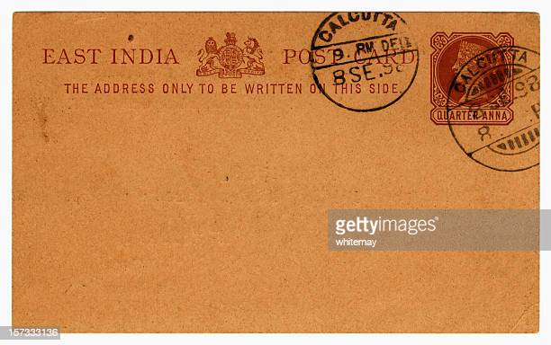 Card from Calcutta