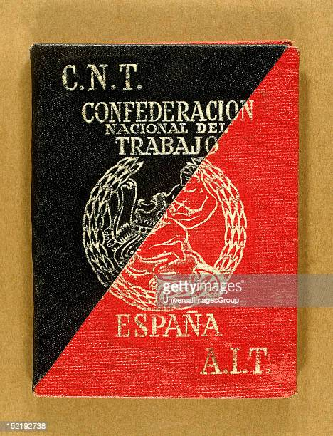 Card of National Confederation Labour Spain
