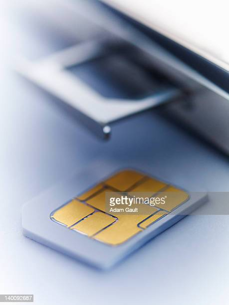 SIM card.