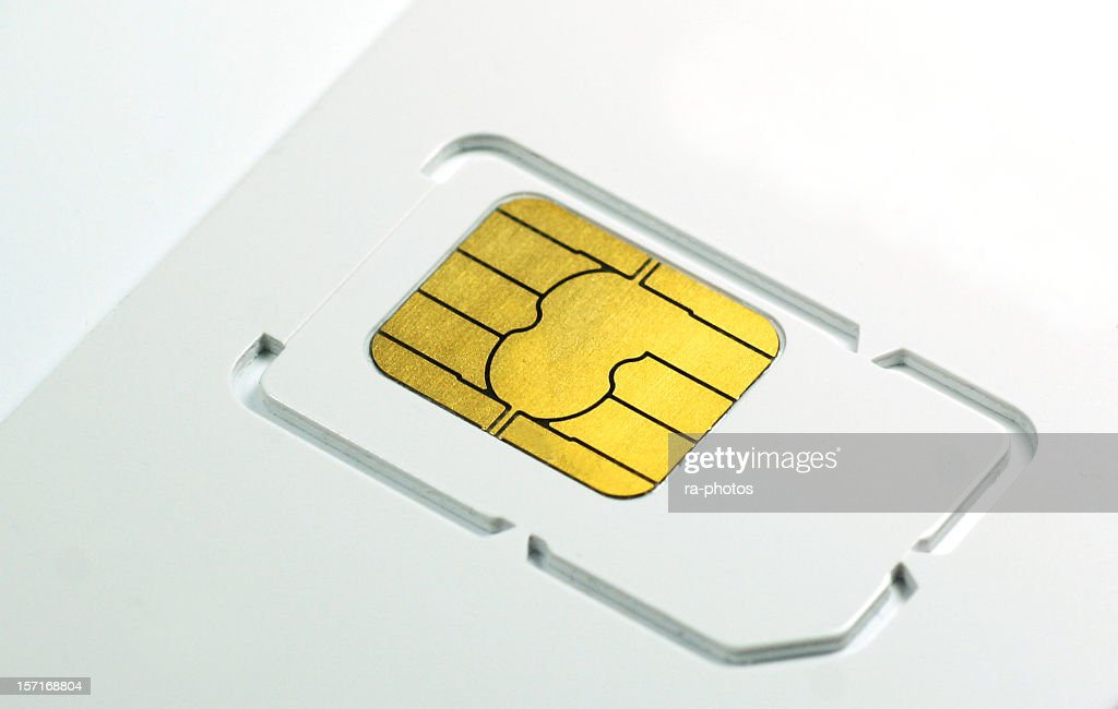 SIM card : Stock Photo