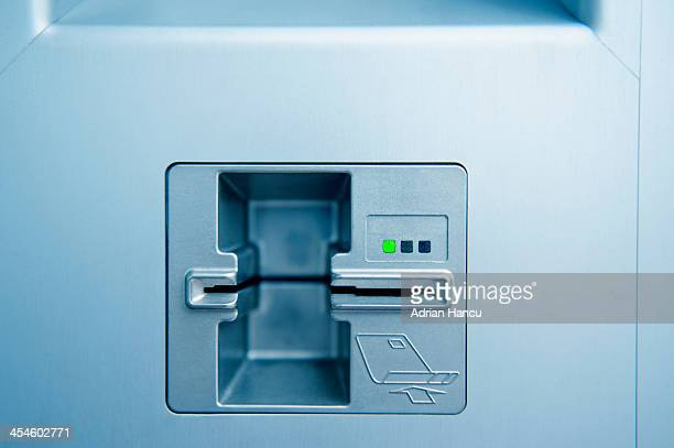 ATM card point slot