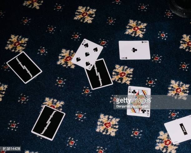 A card thrown to the floor by a magician at the Ruskin hotel in Blackpool on February 19 2016 The most talented and innovative magicians in the world...