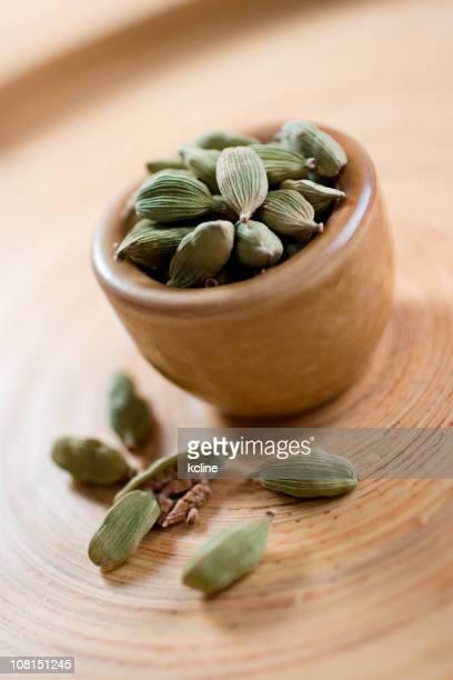 Cardamom Seeds in Bowl