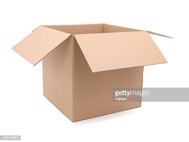 cardboard box - cardboard box stock pictures, royalty-free photos & images