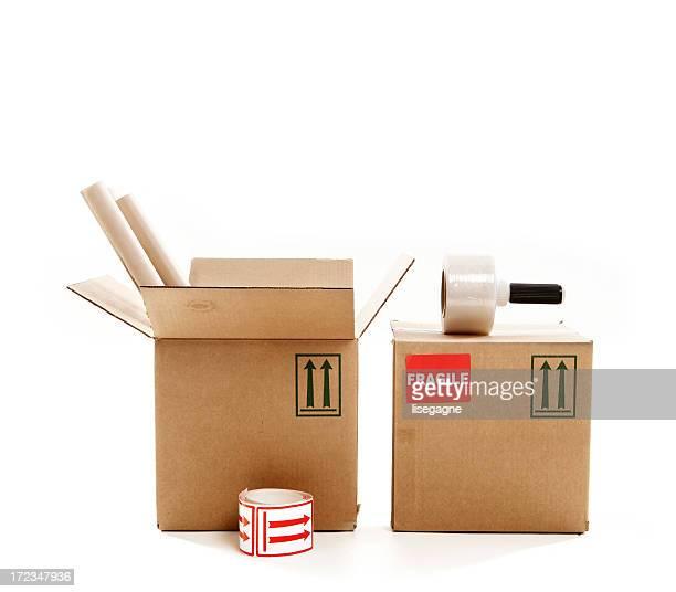 Caixas de Papelão e stock