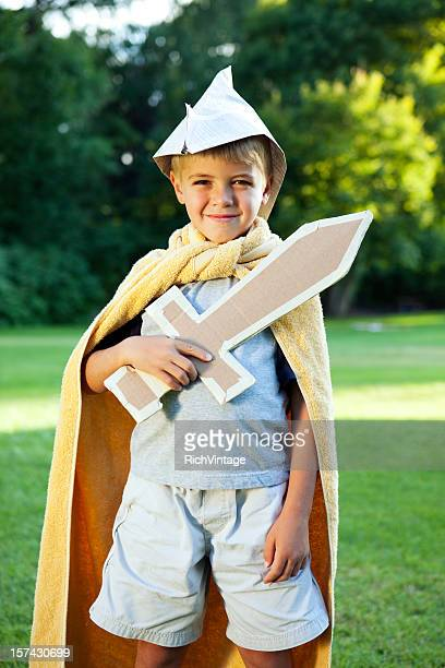 Cardboard Knight