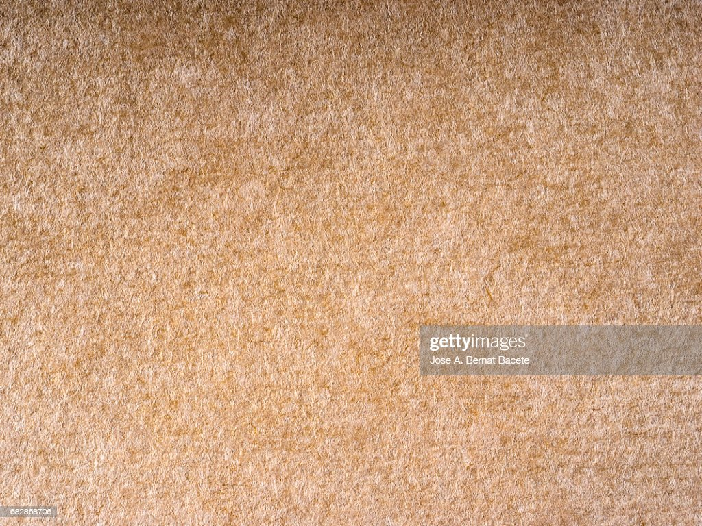 Cardboard Or Paper Antique Texture Background Brown Color