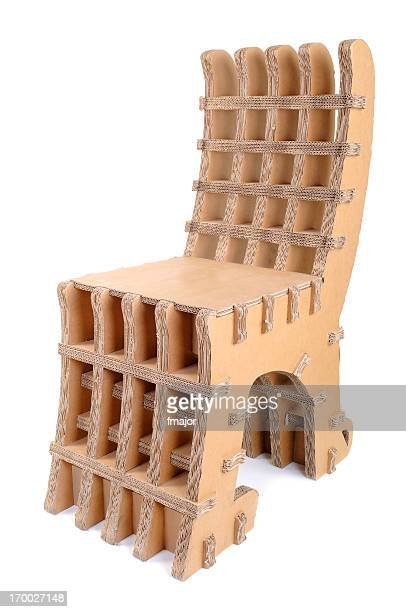 Cardboard Recycled Chair