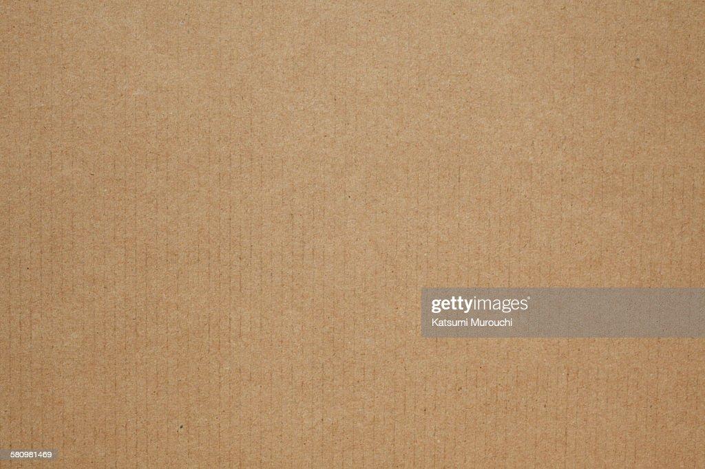 Cardboard texture background : Stock Photo