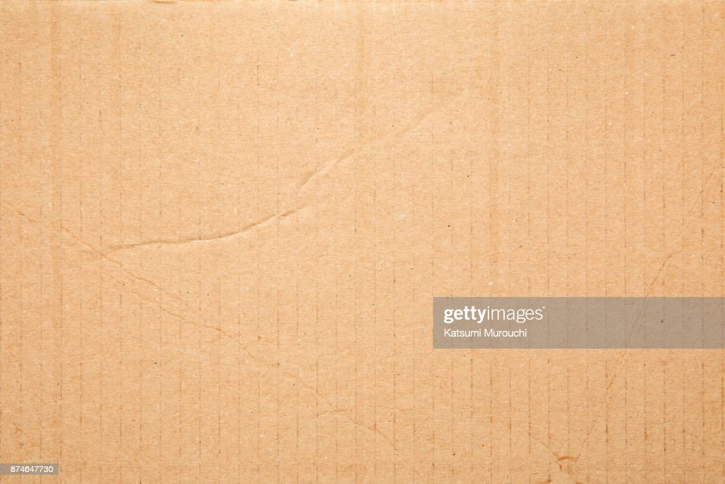 Cardboard texture background : Stock Photo