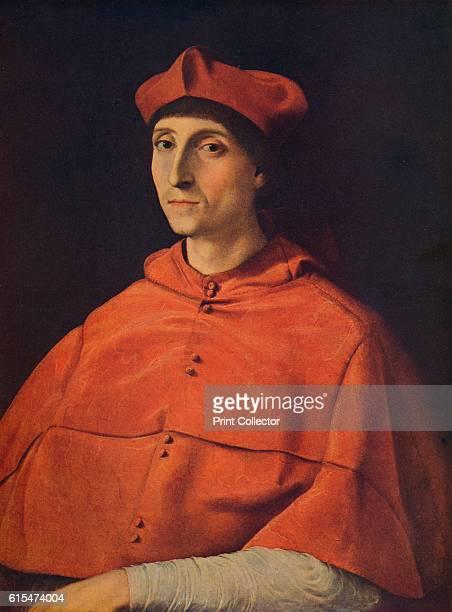 Cardenal Scarramuccia Trivulzio' c1510 The picture represents a cardinal probably a member of the papal court of Julius II perhaps Scaramuccia...