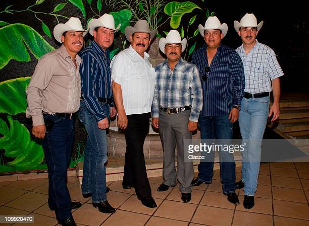 Cardenales de Nuevo Leon pose for photos during Rodeo Santa Fe on March 9 2011 in Mexico City Mexico