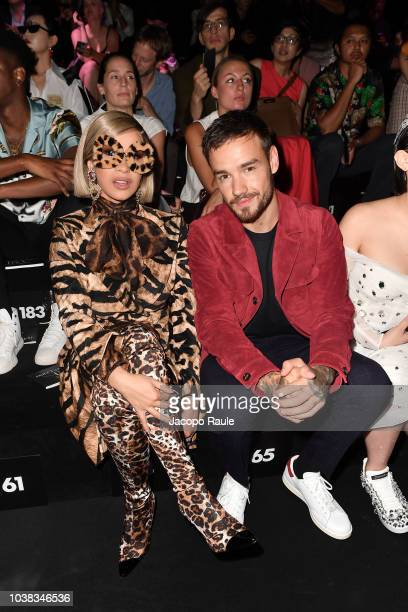 d6adb3fbea Cardi B and Liam Payne attends the Dolce Gabbana show during Milan Fashion  Week Spring/
