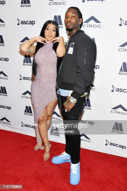 Cardi B and Offset attend 2019 ASCAP Rhythm Soul Music Awards at the Beverly Wilshire Four Seasons Hotel on June 20 2019 in Beverly Hills California
