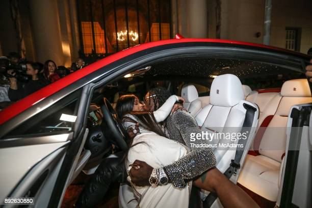 Cardi B and Offset attend The Set Gala at The MacArthur on December 13 2017 in Los Angeles California