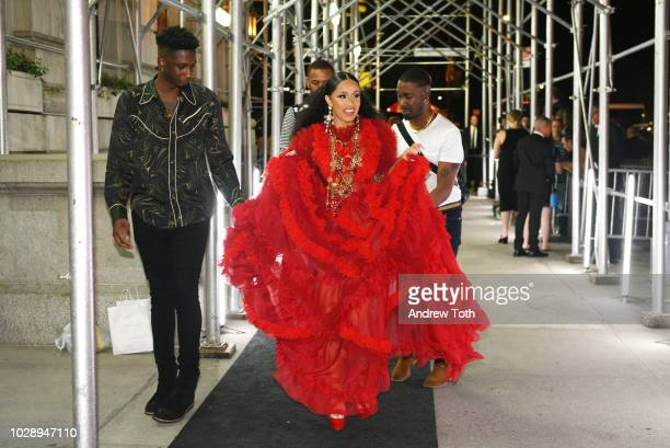 Cardi B at Harper's BAZAAR Celebrates ICONS By Carine Roitfeld at the Plaza Hotel on September 7 2018 in New York City