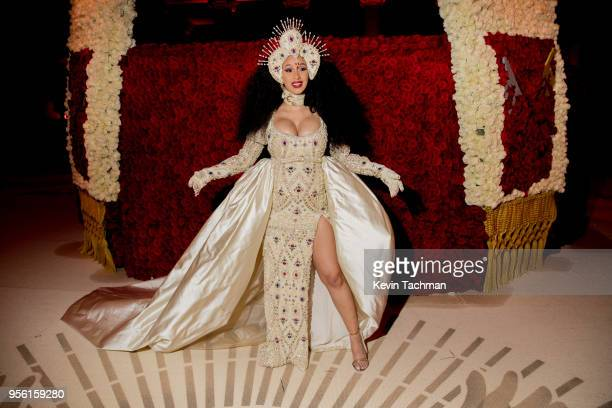 Cardi B at Heavenly Bodies: Fashion & The Catholic Imagination Costume Gala at The Metropolitan Museum of Art on May 7, 2018 in New York City.