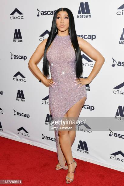 Cardi B attends 2019 ASCAP Rhythm Soul Music Awards at the Beverly Wilshire Four Seasons Hotel on June 20 2019 in Beverly Hills California