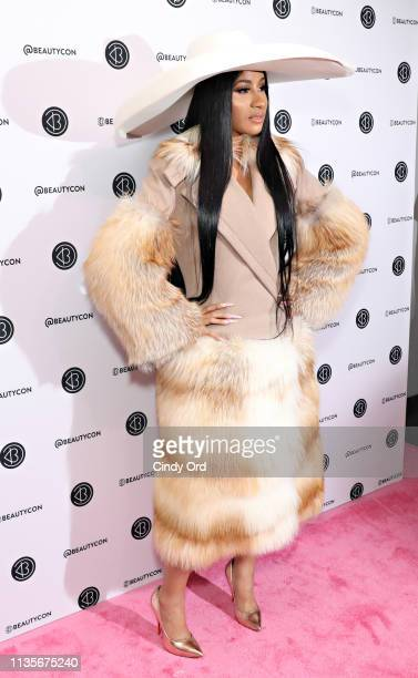 Cardi B attends Beautycon Festival New York 2019 at Jacob Javits Center on April 07 2019 in New York City